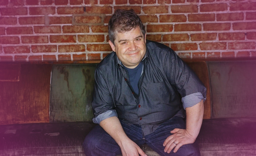 Comedian Patton Oswalt