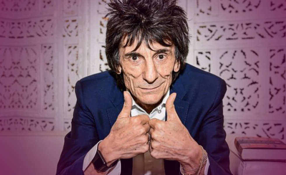 Rolling Stones Ron Wood