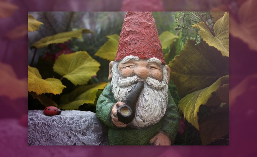 Creepy Origin Of Your Cute Pipe Smoking Garden Gnome