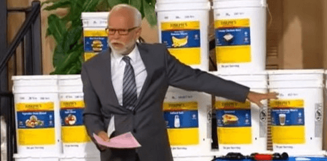Jim Bakker Doomsday Food