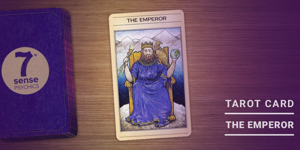 The Emperor Tarot Card - 1000x500