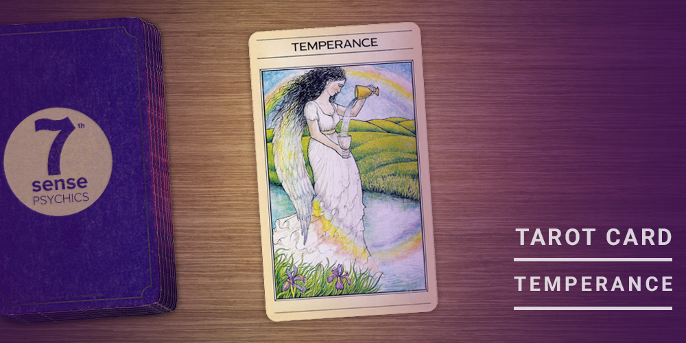 Temperance tarot card