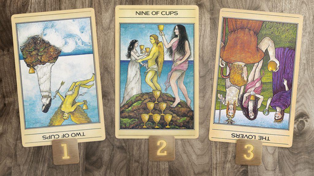 3 Tarot Cards 17-09-19